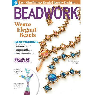 Beadwork Magazine October/November 19