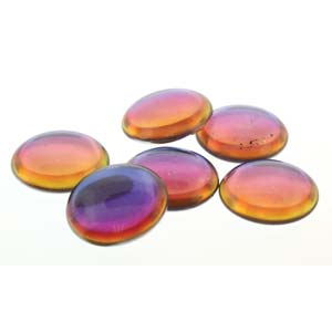 18 mm Round Cabochon Backlit Vapor 00030 29942