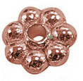 CLNF07 Antique Copper Lead and Nickel Free Daisy Spacer 100 pack