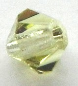 4mm Faceted Bicone CZB04/213 Jonquil 25 pack