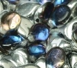 Pip Bead 30 pack Crystal Bermuda Blue 00030 29636