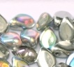 Pip Bead 30 pack Crystal Silver Rainbow 00030 98530