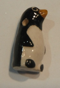Peruvian Animal Bead - Penguin