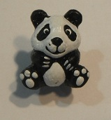 Peruvian Animal Bead - Panda