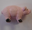 Peruvian Animal Bead - Standing Pig