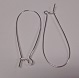 Sterling Silver Large Safety Ear Wire 1 pair