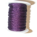 8 needle 4.8mm flat  Purple.  Price per 10cm