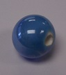 Handmade Pearlised Porcelain Beads - 12mm Pale Blue