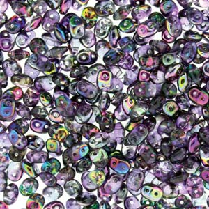 Superduo 10 grams Crystal Magic Violet Grey 00030 95500