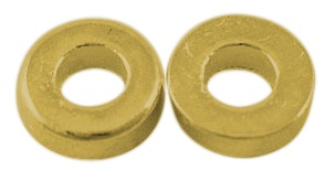 GLF56 Gold Coloured Lead Free Washer 50 pack
