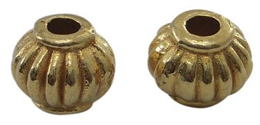 GLNF05 Antique Gold Lead and Nickel Free Bead 45 pack