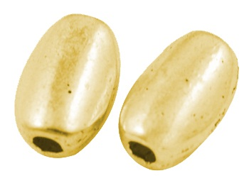 GLNF33 Gold Colour Lead and Nickel Free Bead 23 pack