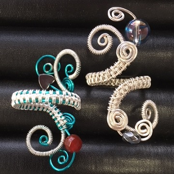 Friday, 20th July, 10 am - 12.30 pm Wire Wrapped Rings