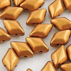 10 grams GemDuos Crystal Bronze Gold 00030 01740