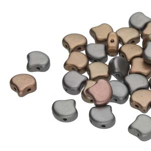 10 grams Matubo Ginko Beads Crystal Grey Rainbow 00030 01670