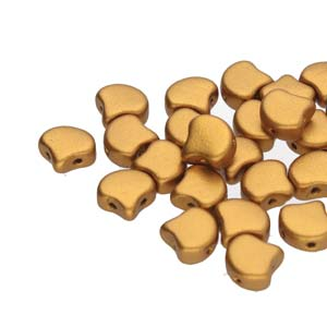 10 grams Matubo Ginko Beads Bronze Gold 00030 01740
