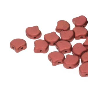 10 grams Matubo Ginko Beads Bronze Fire Red 00030 01750