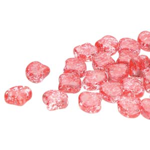 10 grams Matubo Ginko Beads Confetti Splash Red Pink 00030 24401