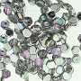 Honeycomb Beads 30 pack Crystal Silver Rainbow 00030 98530