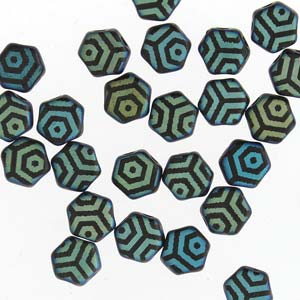 Honeycomb Beads 30 pack Jet Laser Web Matte AB 23980 28773WB