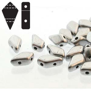10 grams 2 Hole Kites Bronze Aluminium 00030 01700