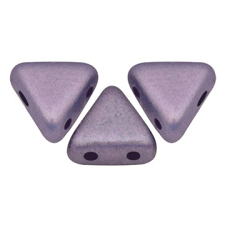 10 grams Kheops 2 hole beads Met Matte Purple 23980 79021