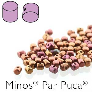 5 grams Minos Par Puca Crystal Orange Rainbow 00030 01620