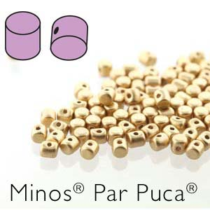 5 grams Minos Par Puca Crystal Bronze Pale Gold 00030 01710