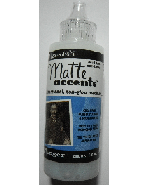Matte Accents 2 fluid ounce bottle