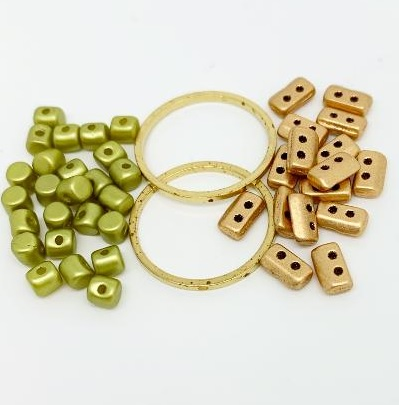 Fleur Component Pack Green and Gold
