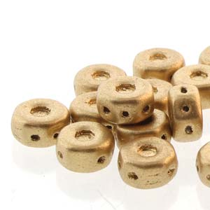 30 pack Czech glass Octo Beads Bronze Pale Gold 00030 01710