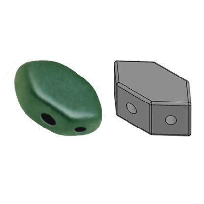 10 grams Paros Par Puca Matte Met Green Turquoise 23980 94104