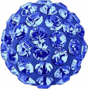 25 Perles Cristal SAPPHIRE    206-4 mm TOUPIES SWAROVSKI