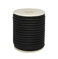 Rubber Tubing Black 5mm x 1 metre