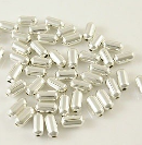 S31 5mm Silver Colour Spacer Bead 38 pack