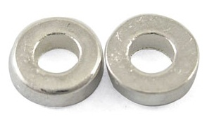 SLF144 Silver Coloured Lead Free Washer 50 pack