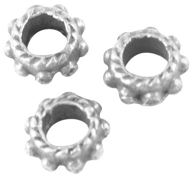 SLNF133 Antique Silver Lead and Nickel Free Cog 75 pack