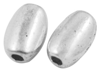 SLNF28 Silver Colour Lead and Nickel Free Bead 23 pack