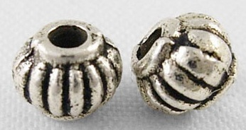 SLNF48 Lead and Nickel Free Tibetan Style Bead 45 pack