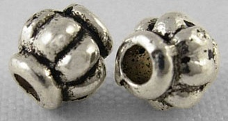 SLNF61 Lead and Nickel Free Tibetan Style Bead 45 pack