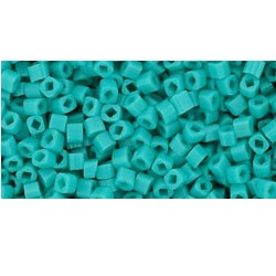 10 grams TOHO 1.5 mm Cubes Opaque Turquoise TC-01-55