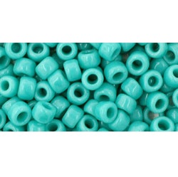 10g TOHO size 6 Opaque Turquoise TR-06-55