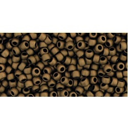 10g TOHO size 11 Frosted Bronze TR-11-221F