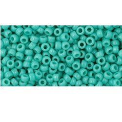 10g TOHO size 11 Opaque Turquoise TR-11-55