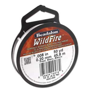 12 lb strength, 0.2 or 0.008 inch dia Wildfire 50 yds Black
