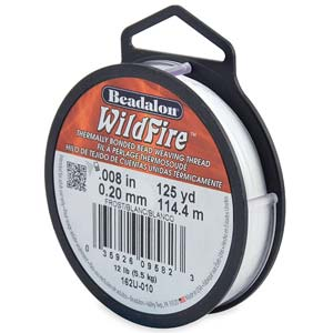 12 lb strength, 0.2 or 0.008 inch dia Wildfire 125 yds Frost