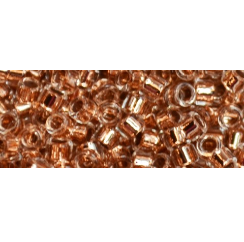 5g TOHO Aiko Copper Lined Crystal  TA-11-740