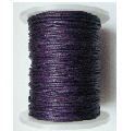 1mm Cotton Cord in aubergine. Price per 10 metres