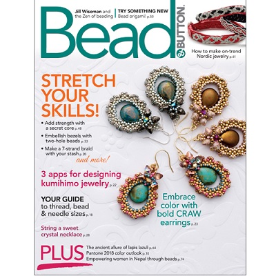 Bead and Button Magazine February 2018
