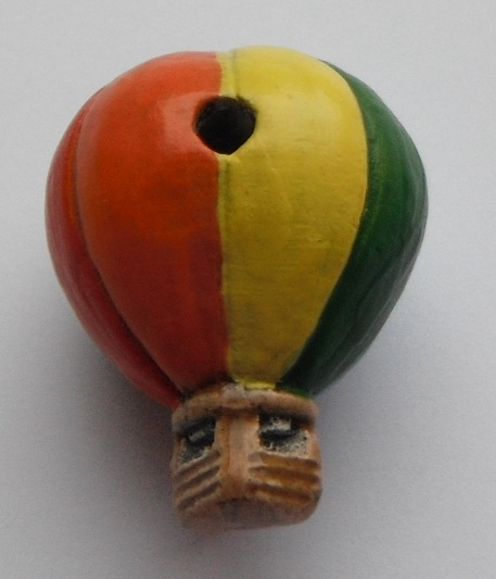 Peruvian Bead - Hot Air Balloon